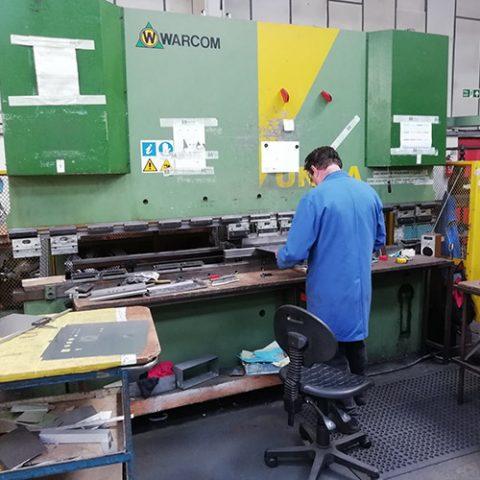 Warcom Unica 125-30 Hydraulic Press Brake 3 metre CNC Control