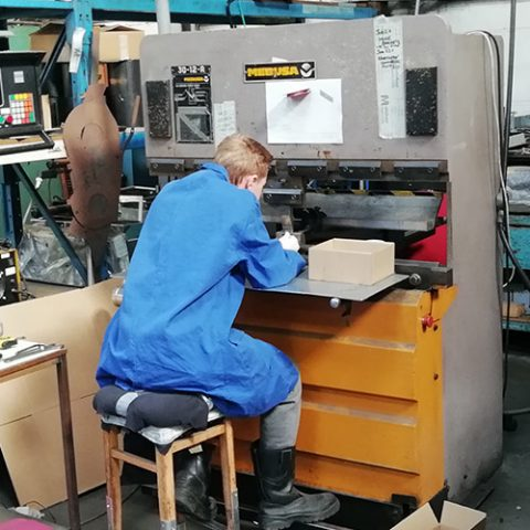 Mebusa 65-25 Hydraulic Press Brake 2.5 metre CNC Control